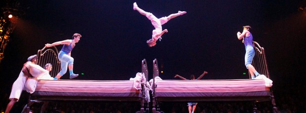 'Corteo', de Cirque du Soleil: Un viaje fantástico a la inocencia